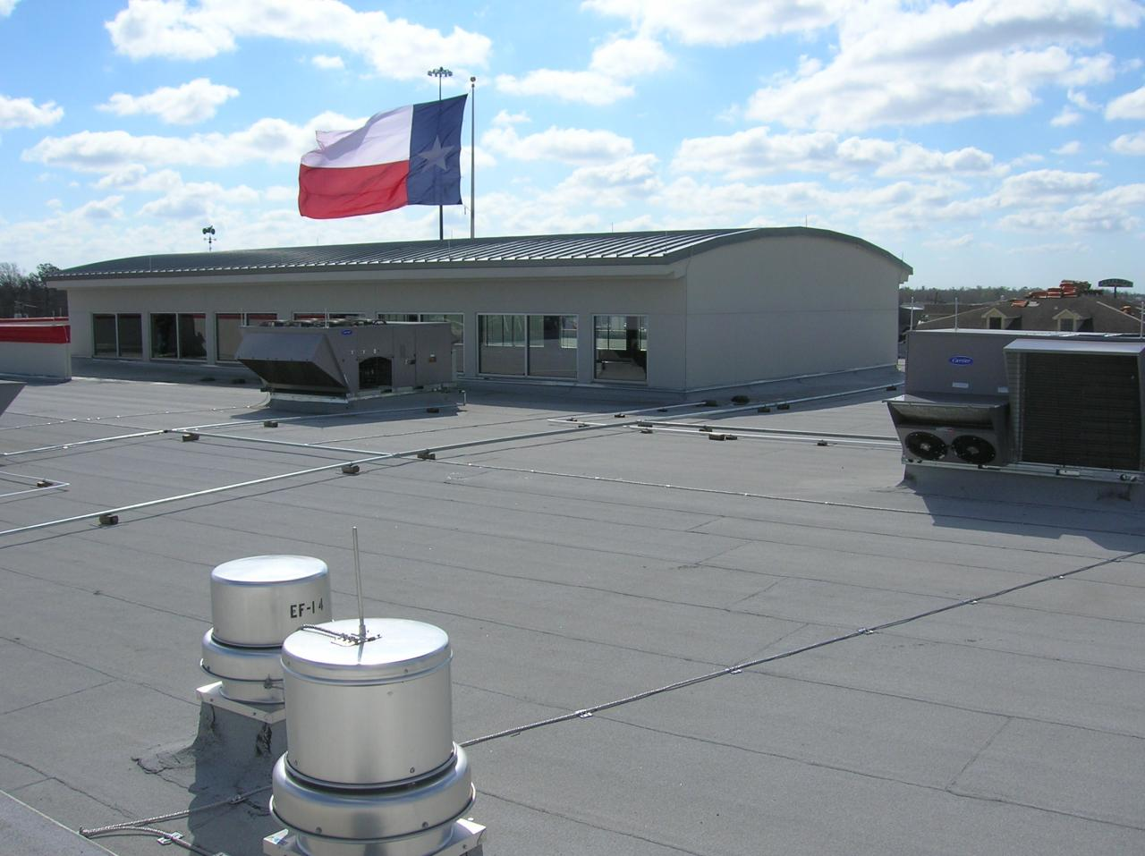 Perkins roofing company inc project photos for Sander s motor co beaumont tx